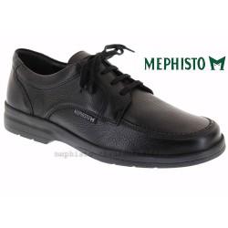 mephisto-chaussures.fr livre à Gravelines Mephisto JANEIRO Noir Graine cuir lacets