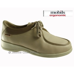 Mephisto lacet femme Chez www.mephisto-chaussures.fr Mobils LALLY ETE Beige cuir lacets