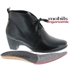MOBILS de Mephisto Femme Bottine BALI Noir cuir 9495