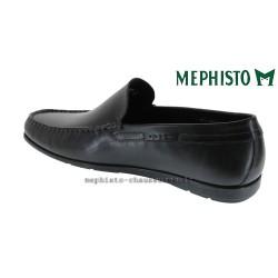 MEPHISTO Homme Mocassin ALGORAS Noir cuir lisse 9611
