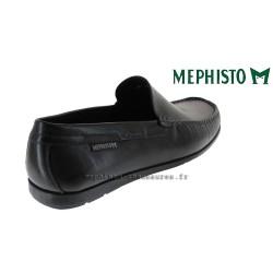 MEPHISTO Homme Mocassin ALGORAS Noir cuir lisse 9612