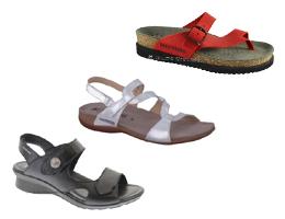 sandales, tongs ...
