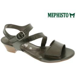 Mephisto CALYSTA gris cuir nu pied