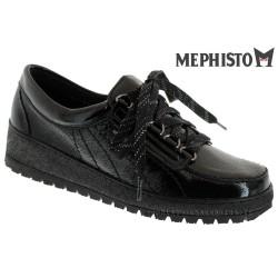 Mephisto LADY Verni noir lacets