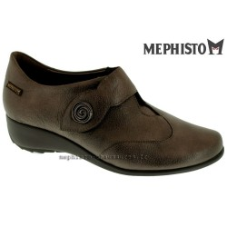 Mephisto SECINA Bronze cuir mocassin