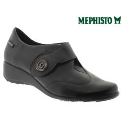 Mephisto SECINA Noir cuir lisse mocassin
