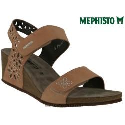 Mephisto MARIE SPARK Vieux rose velours sandale