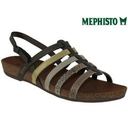 Mephisto VERONA Or bronze cuir sandale