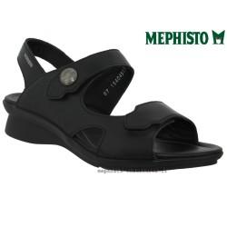 Mephisto PRUDY Noir cuir sandale