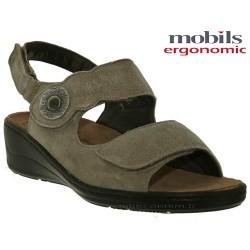 Mobils JISSY Taupe nubuck brillant sandale