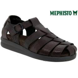 Mephisto SAM GRAIN Marron cuir sandale