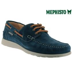 Mephisto GIACOMO Bleu velours bateau