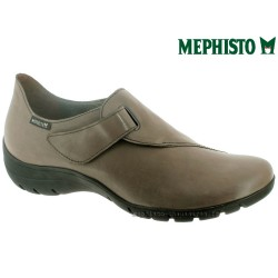 Mephisto LUCE Taupe cuir mocassin