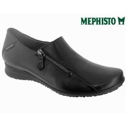 Mephisto FAYE Noir cuir mocassin
