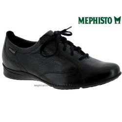 Mephisto Valentina Noir cuir lacets