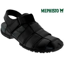 Mephisto BASILE Noir cuir sandale