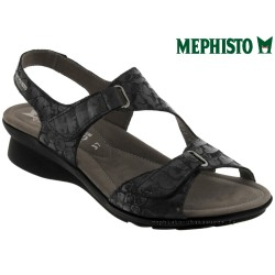 Mephisto PARIS Noir cuir sandale