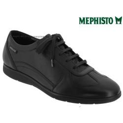 Mephisto Leonzio Noir cuir lacets