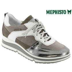 Mephisto Vicky Gris cuir basket mode