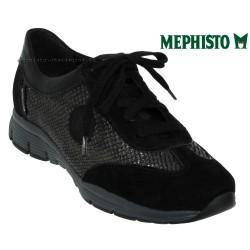 Mephisto YAEL Noir velours basket mode basse
