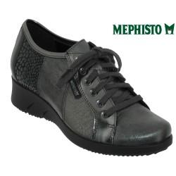 Mephisto Melina Gris cuir a talon derbies