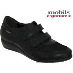 Mobils by Mephisto JENNA Noir cuir scratch