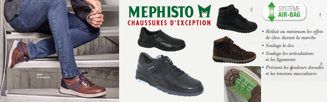 Nouvelle collection Homme Mephisto