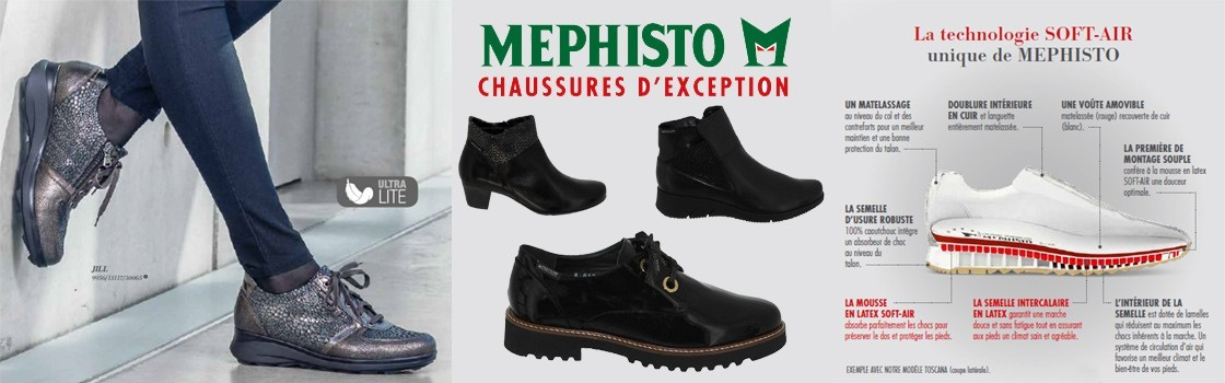 Collection FEMME Mephisto Boots et Baskets